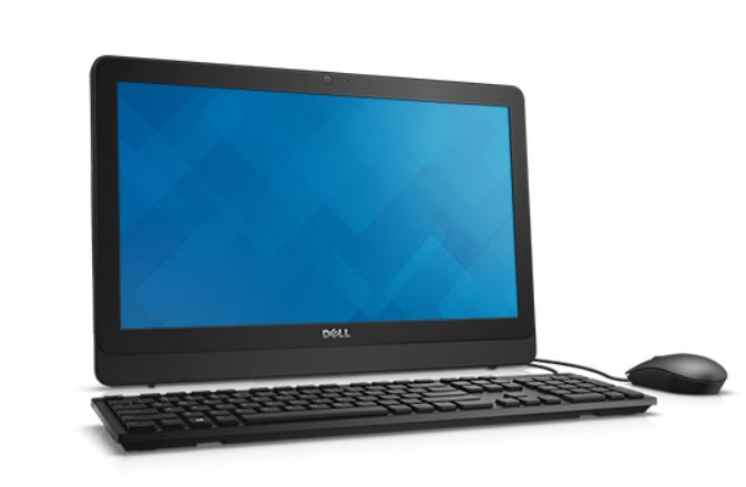 "DELL Inspiron 3064 i3 7100U 4GB 1TB 2.40GHz i3-7100U 19.5"" 1600 x 900pixels Touchscreen Black All-in-One PC"