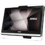 "MSI Pro 20ET 4BW-043XEU 1.6GHz N3160 19.5"" 1600 x 900pixels Touchscreen Black All-in-One PC"