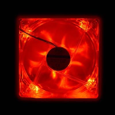 EVO LABS 120mm 1000RPM Red LED OEM Fan