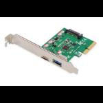 Digitus DS-30225 interface cards/adapter USB 3.2 Gen 2 (3.1 Gen 2) Internal