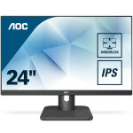"AOC Essential-line 24E1Q computer monitor 60.5 cm (23.8"") 1920 x 1080 pixels Full HD LED Flat Matt Black"
