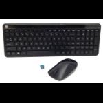 HP 801523-171 keyboard RF Wireless Arabic Black