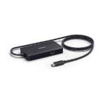 Jabra 14207-58 interface hub USB 3.2 Gen 1 (3.1 Gen 1) Type-C Black