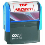 Colop P50 Stamp TOP SECRET 68x29mm Red