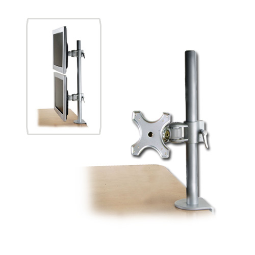 Lindy 40695 flat panel desk mount Silver