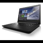 """Lenovo IdeaPad 110-14IBR 1.6GHz N3060 14"""" 1366 x 768Pixeles Negro Portátil"""