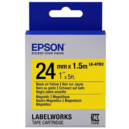 Epson C53S656011 (LK-6YB2) DirectLabel-etikettes, 24mm x 1,5m