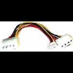 8WARE Power Splitter-Hard & FDD +Floppy drv