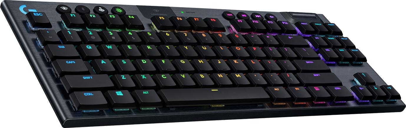 Logitech G G915 TKL teclado Bluetooth QWERTY Internacional de EE.UU. Negro