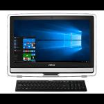 "MSI Pro 22ET 6M-015DE 3.7GHz i3-6100 21.5"" 1920 x 1080pixels Touchscreen White All-in-One PC"
