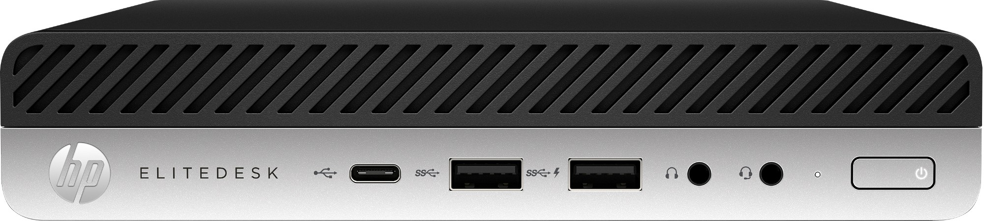 HP EliteDesk 705 G4 AMD Ryzen 5 2400GE 8 GB DDR4-SDRAM 256 GB SSD Black,Silver Mini PC