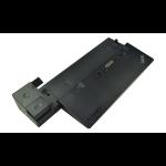 2-Power ALT265788B notebook dock/port replicator Docking Black