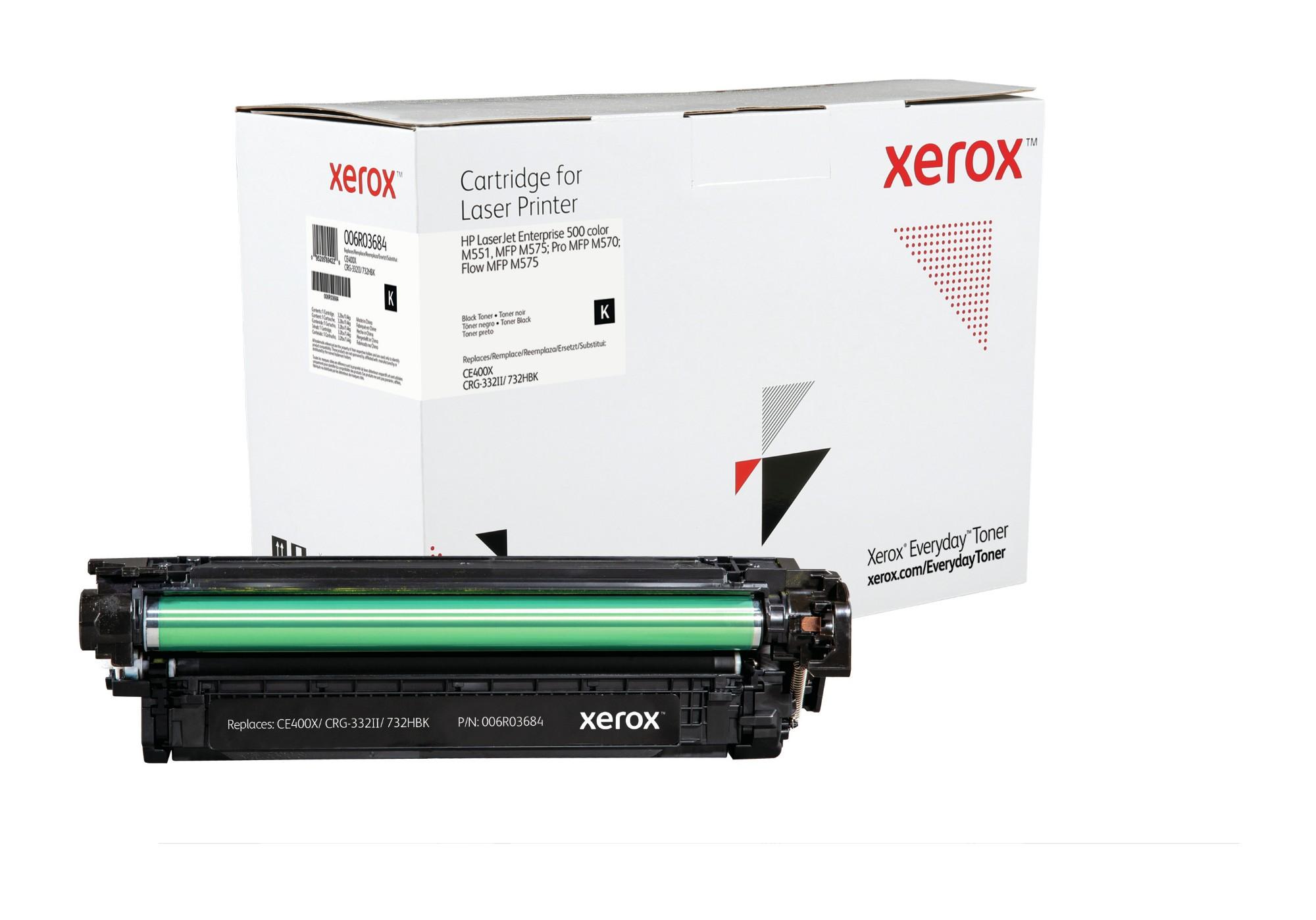 Xerox Tóner Negro Everyday, HP CE400X equivalente de , 11000 páginas
