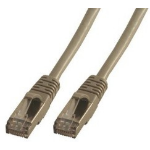 MCL FCC6ABM-10M cable de red Gris