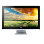 "Acer Aspire Z3-715-UR52 2.2GHz i5-6400T 23.8"" 1920 x 1080pixels Touchscreen Black,Silver All-in-One PC"