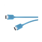 Belkin USB-C to USB-C Charge and Sync Cable (1.8 m) for Type-C Devices - Blue