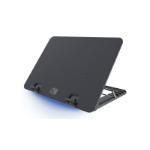 "Cooler Master Ergostand IV 17"" Notebook stand Black"