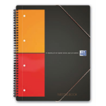 Elba Meetingbook 160sheets Orange writing notebook