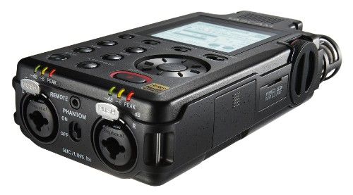 Tascam DR-100MKIII dictaphone Flash card Black