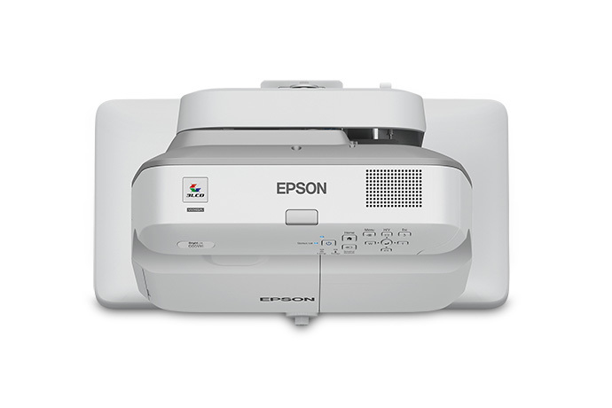 Epson Brightlink 685wi Wall-mounted projector 3500ANSI lumens 3LCD WXGA (1280x800) Grey,White data projector