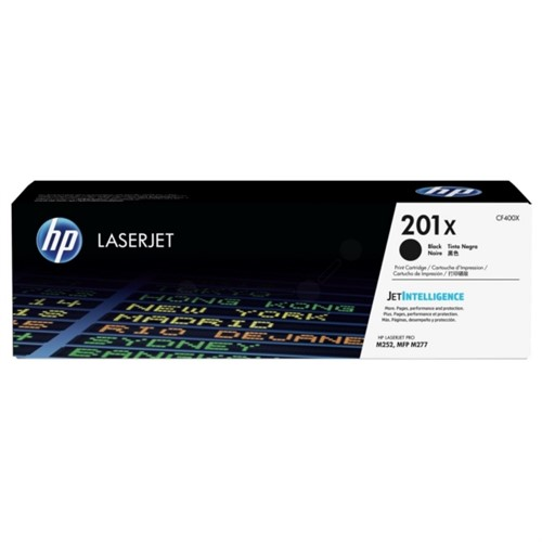 HP CF400X 201X Black LaserJet Toner Cartridge 2,800 pages