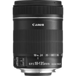Canon EF-S 18-135mm f/3.5-5.6 IS SLR Standard zoom lens Black