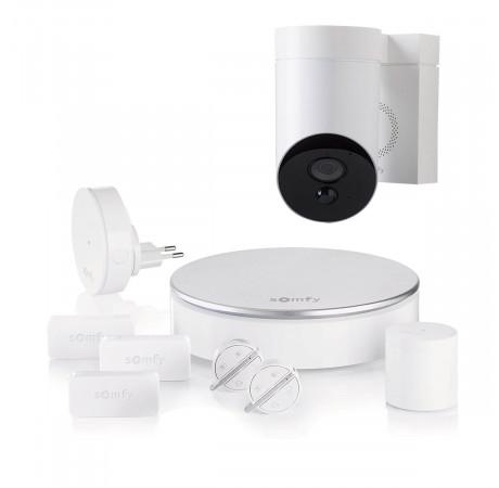 Somfy Home Alarm+ Outdoor camera White