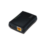 Digitus DN-13020 print server Ethernet LAN Black