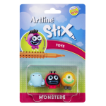 ARTLINE TOY CHARACTERS ARTLINE STIX PACK 3 MONSTERS 1(EACH)