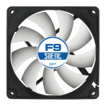 ARCTIC F9 Silent 3-Pin fan with standard case