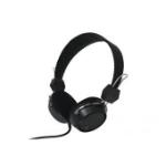 Perfect Choice PC-116394 Diadema Biauricular Alámbrico Negro auricular para móvil
