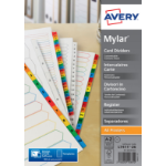 Avery Mylar A-Z Reinforced Divider Multi Punched A4 05231061