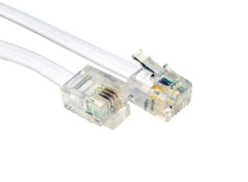Cables Direct BT-102 telephony cable 2 m White