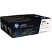 HP CF370AM (305A) Toner MultiPack, 2.6K pages, Pack qty 3