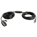 Lindy 43099 USB cable 15 m USB A Male Female Black