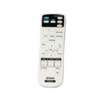 Epson 1613717 remote control Projector Press buttons