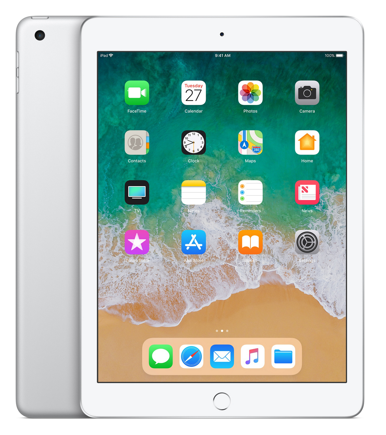 iPad 2018 - 9.7in - Wi-Fi - 128GB - Silver