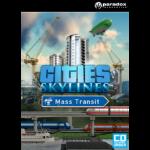 Paradox Interactive Cities: Skylines Mass Transit, PC/MAC/Linux Basic Linux/Mac/PC DEU Videospiel