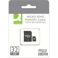 Q-CONNECT 32GB MICRO SDHC CARD CLASS 10
