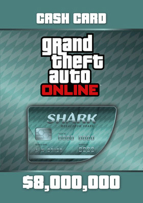 Nexway Grand Theft Auto Online: Megalodon Shark Cash Card