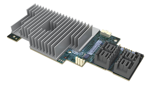 Intel RMS3AC160 PCI Express x8 3.0 12Gbit/s RAID controller