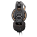 Plantronics RIG 400 Binaural Head-band Black, Orange