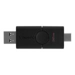 Kingston Technology DataTraveler Duo USB flash drive 32 GB USB Type-A / USB Type-C 3.2 Gen 1 (3.1 Gen 1) Black