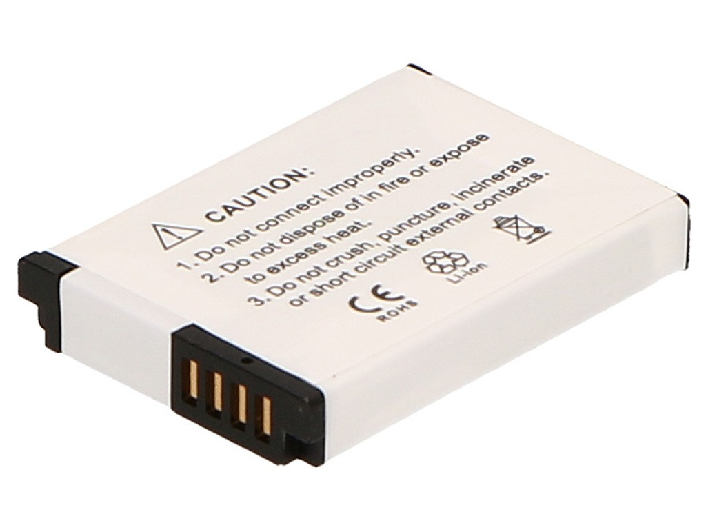 2-Power Digital Camera Battery 3.7V 1000mAh