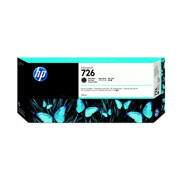 HP CH575A (726) Ink cartridge black matt, 300ml