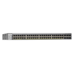 Netgear GS752TPSB-100EUS network switch Managed L3 Power over Ethernet (PoE) 1U Stainless steel