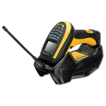 Datalogic PowerScan PM9100 Handheld bar code reader 1D LED Black,Yellow
