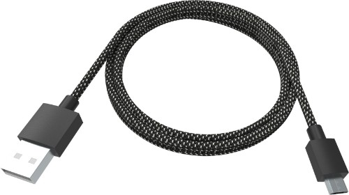 Vision TC-2MUSBM-HQ USB cable 2 m 2.0 USB A Micro-USB B Black,White