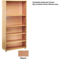 FF Jemini Open Storage Shelf Beech