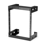 "StarTech.com 12U 19"" Wall Mount Network Rack - 12"" Deep 2 Post Open Frame Server Room Rack for Data/AV/IT/ Communication/Computer Equipment/Patch Panel w/Cage Nuts & Screws 200lb Capacity"